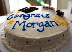 I made Morgan a cake