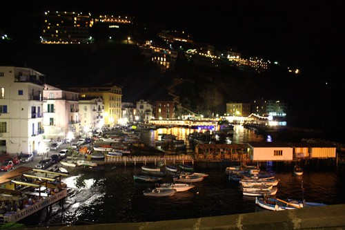 Marina Grande at Night