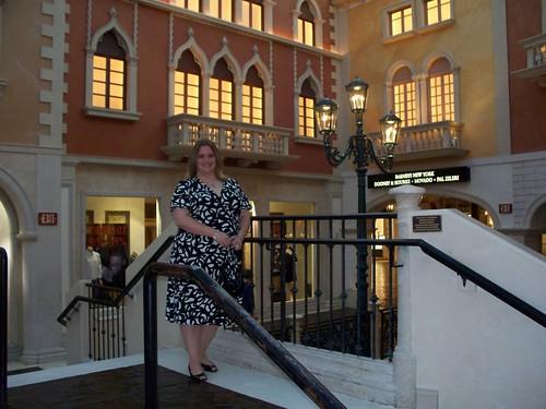 Erin visits Venice