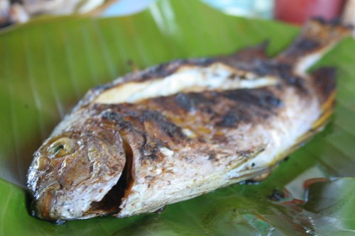 Grilled Fish at Liza's dampa