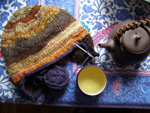tea and wool...