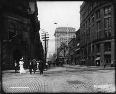 Yonge Street, Toronto, ON, about 1890