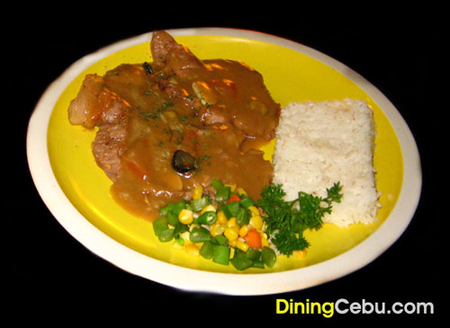 Philippines Cebu Restaurant Filipino - Tara's Cafe Pork Steak