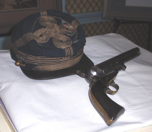 Patric Cleburne's pistol and Kepi reunited after 143 years.