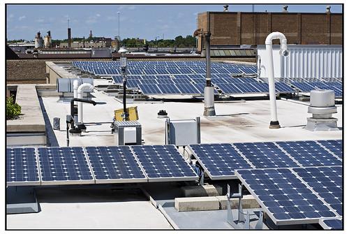 Solar Panels - Chicago Center for Green Technology