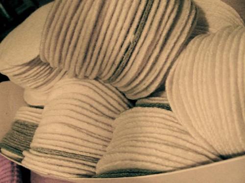 wool circles