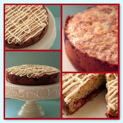 Mosaic of cake