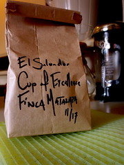 Cup of Excellence winner, El Salvador Finca Matalapa - 01