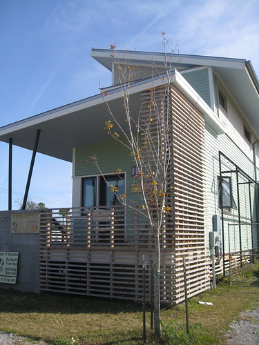 Exterior of house - Global Green Holy Cross Project, New Orleans