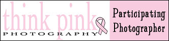 Think Pink Participating Photographer Banner