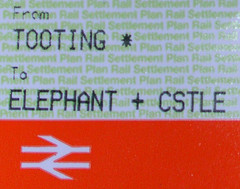 Tooting to Elephant & Castle