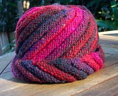Bias Ridged Hat