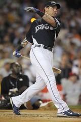 Josh Hamilton at the Home Run Derby, 2008. Scott Rovak/US Presswire