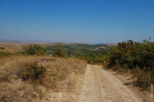 Дорога на Феодосию за Подгорным