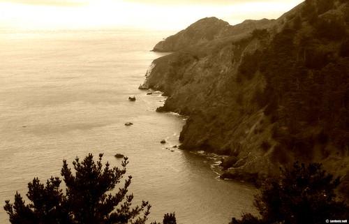 Marin Headlands Cliffside