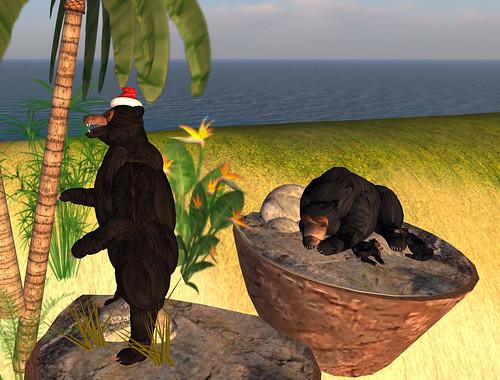 Santa Bear at Alienbear on Bratz 12-12-2008