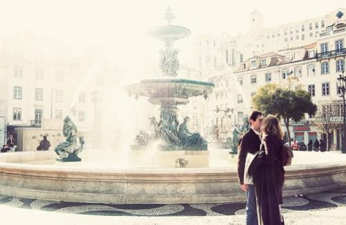 O Beijo e a Fonte by Ana Santos