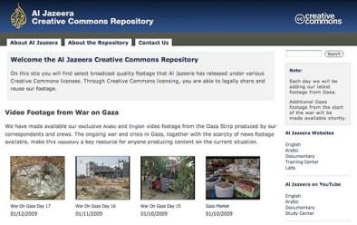 Al Jazeera's Creative Commons Repository
