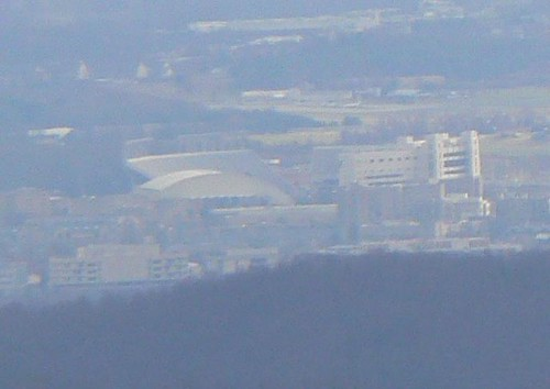 Bear Cliffs - Lane Stadium (Cropped)