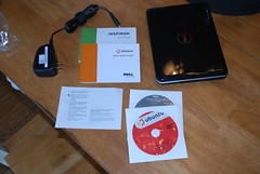 Dell Mini 9 contents