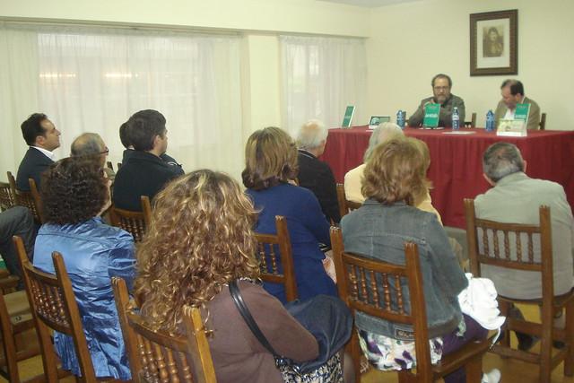 Presentación de 'La mirada del bosque' en Santiago