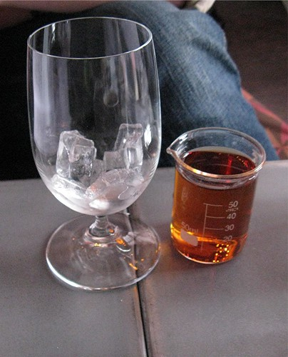 beaker o' bourbon
