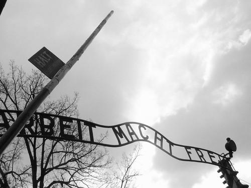 El trabajo os hará libres Auschwitz