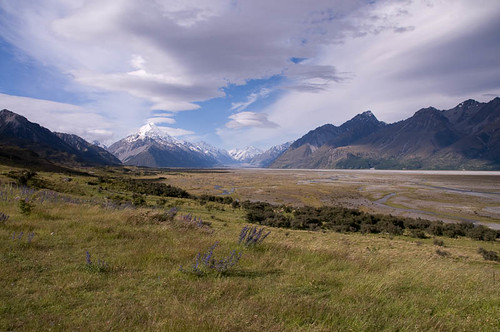 Mt Cook & plains