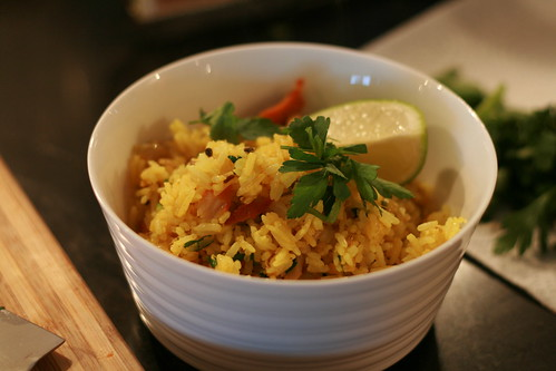smoked fish kedgeree © dan and tuesday