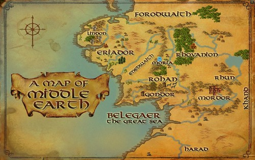 Map - NW Middle Earth 001