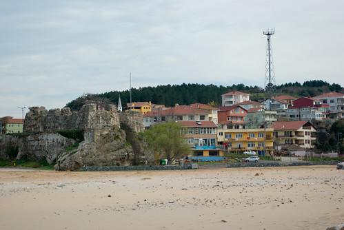Riva castle and Riva village, Blacksea, Istanbul , Pentax K10d
