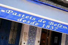 Famous pastry shop in Lisbon