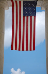 Flag at Arlington