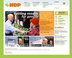 Old NDP site