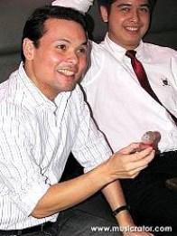 Sec. Joseph Ace Durano holding Sago