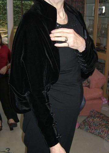 Velvet Wrap for my mother