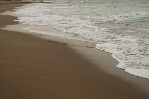 La playa limpia