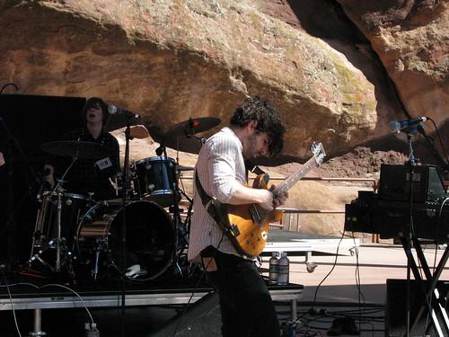 Foals, Monolith Festival, Red Rocks 09/12/08