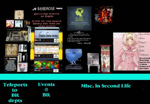 BareRose Main HQ-Info Boards
