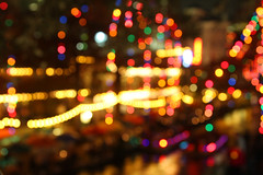 holiday bokeh on the riverwalk (24 days of Chr...