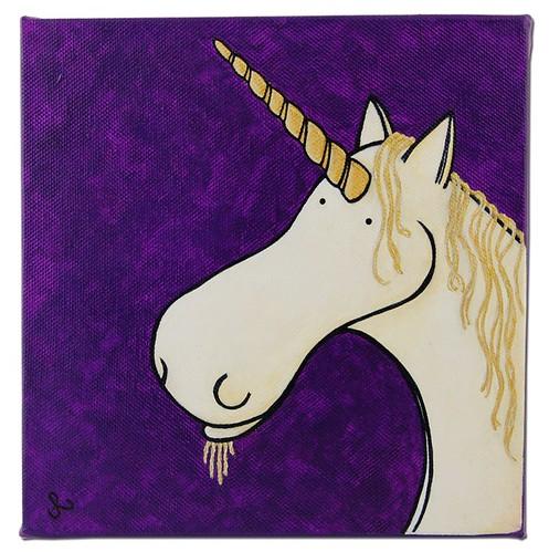 unicorn - straight on