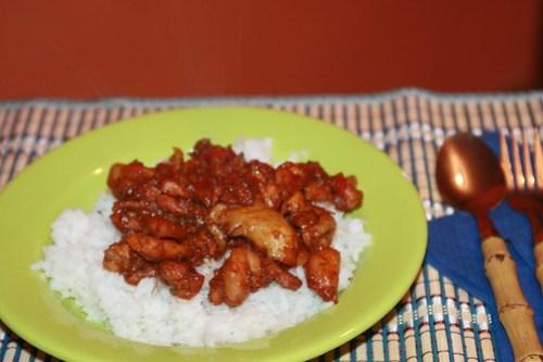 spicy chiken