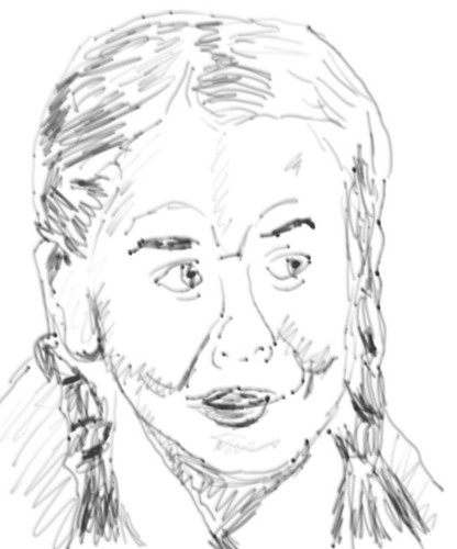 Alexis Dziena - The sketch