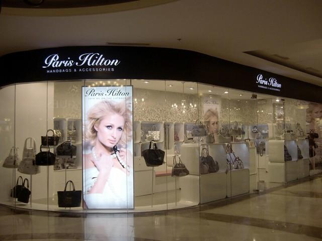 Paris Hilton store