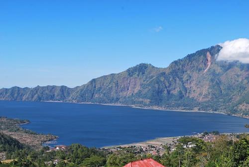 Lake Batur and Gunung Batur