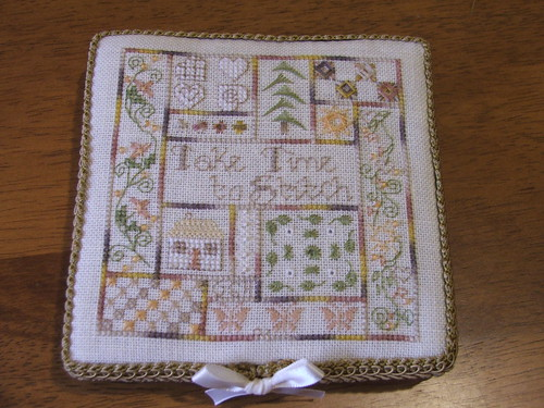 Take time to stitch / Jeanette Douglas - a gift from Goldie