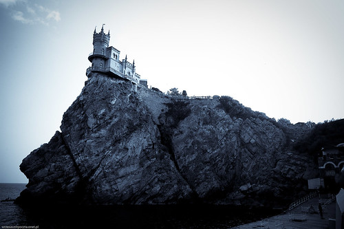 Swallow's Nest on Aurora Cliff, Crimea, Ukraine