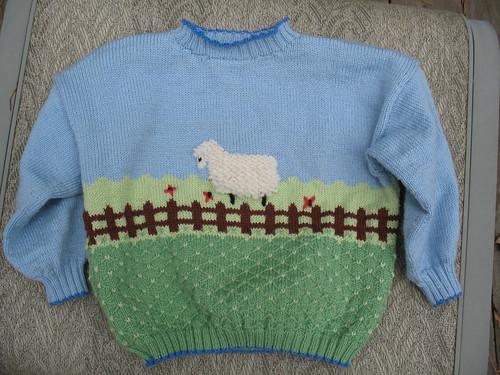 Bubby's Sheep Sweater