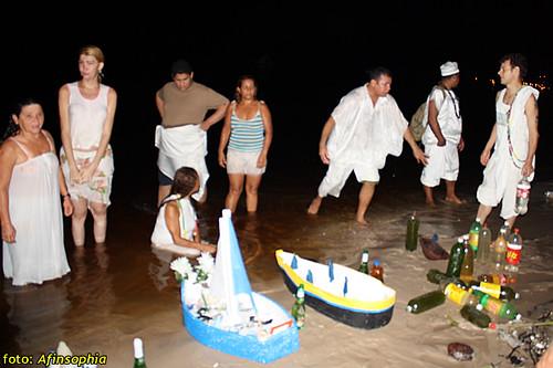 Barca Iemanjá 07 por você.