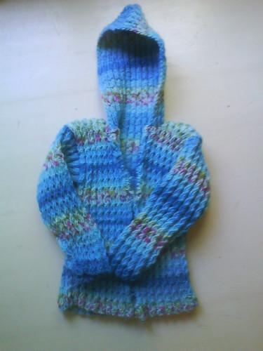 Kathleens Escapade cabled hoodie